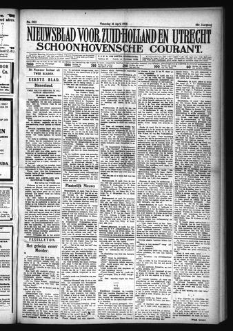 Schoonhovensche Courant 1928-04-16