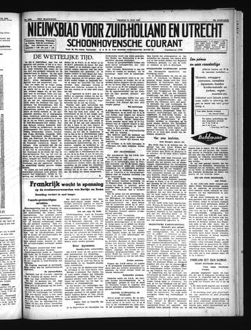 Schoonhovensche Courant 1940-06-21