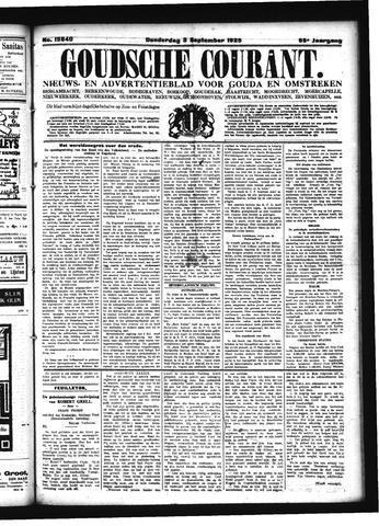 Goudsche Courant 1925-09-03