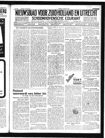 Schoonhovensche Courant 1940-03-15