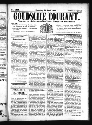 Goudsche Courant 1903-06-22