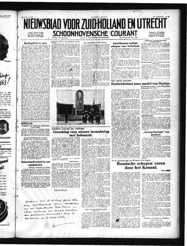 Schoonhovensche Courant 1950-05-22
