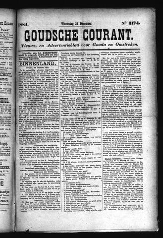 Goudsche Courant 1884-12-24