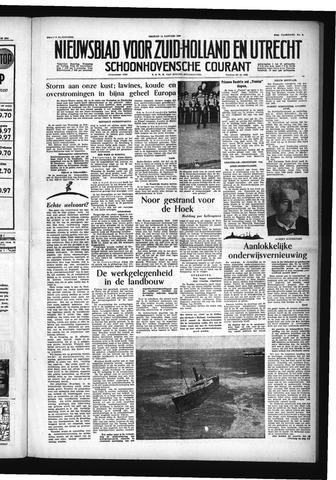 Schoonhovensche Courant 1955-01-14