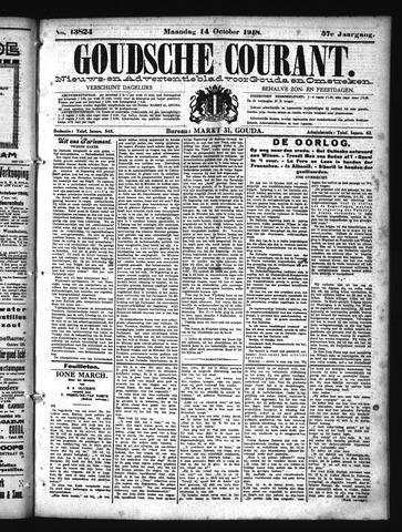 Goudsche Courant 1918-10-14