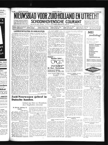 Schoonhovensche Courant 1940-05-03