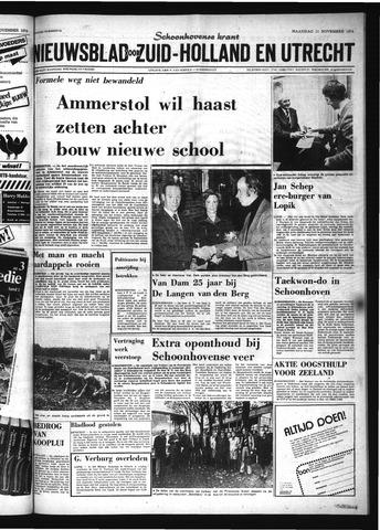Schoonhovensche Courant 1974-11-11