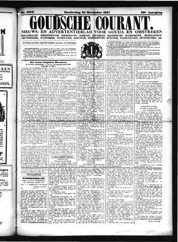 Goudsche Courant 1927-11-24