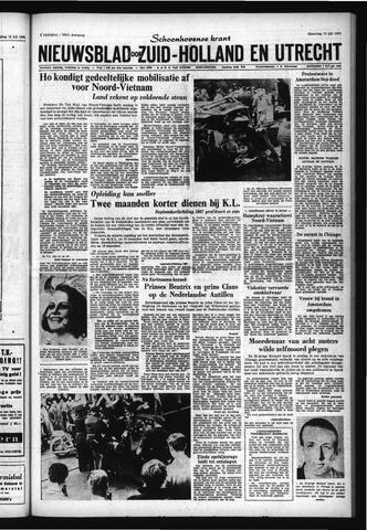 Schoonhovensche Courant 1966-07-18