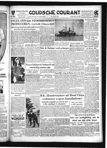 Goudsche Courant 1952-02-27