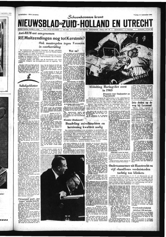 Schoonhovensche Courant 1964-09-18