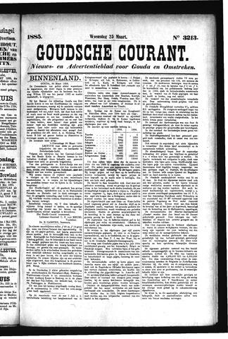 Goudsche Courant 1885-03-25