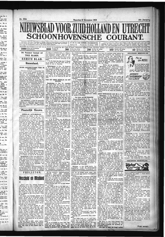 Schoonhovensche Courant 1928-12-10