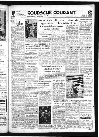 Goudsche Courant 1951-01-22