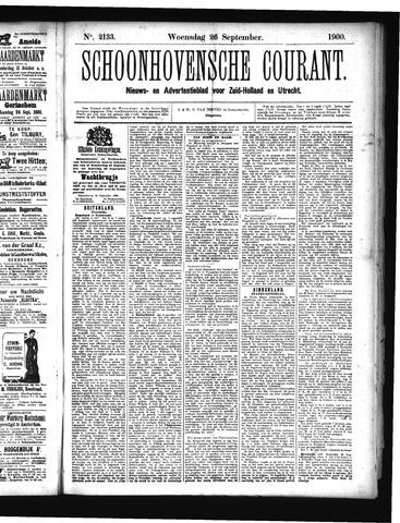 Schoonhovensche Courant 1900-09-26
