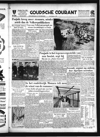 Goudsche Courant 1956-01-07