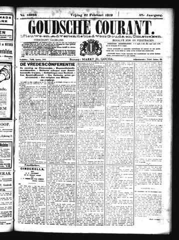Goudsche Courant 1919-02-21