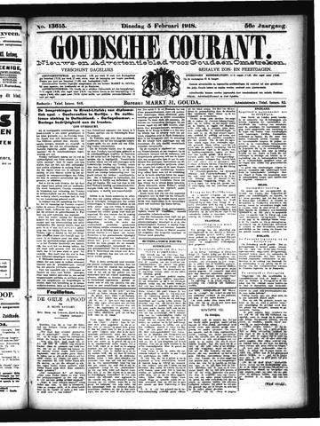 Goudsche Courant 1918-02-05