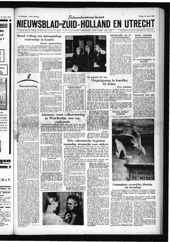 Schoonhovensche Courant 1960-03-18