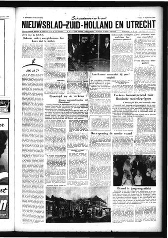 Schoonhovensche Courant 1959-09-25