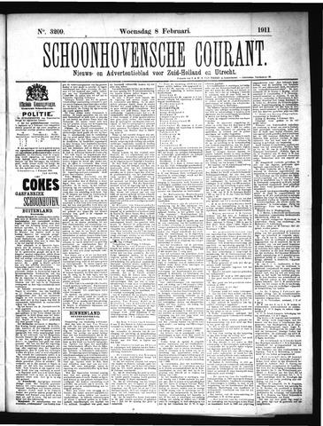Schoonhovensche Courant 1911-02-08