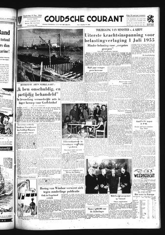 Goudsche Courant 1954-11-11