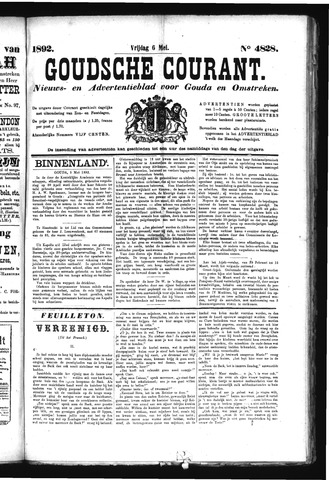 Goudsche Courant 1892-05-06
