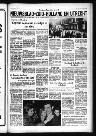 Schoonhovensche Courant 1967-11-20