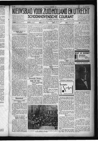 Schoonhovensche Courant 1931-11-20