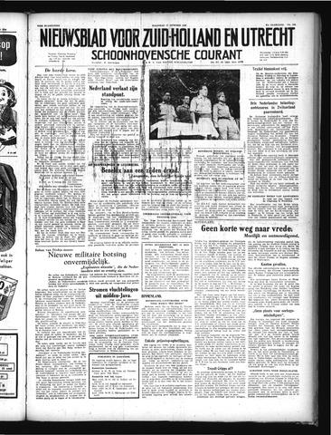 Schoonhovensche Courant 1949-10-17