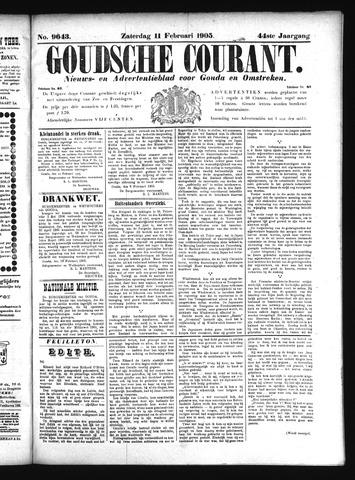 Goudsche Courant 1905-02-11
