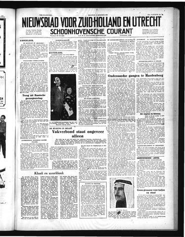 Schoonhovensche Courant 1952-08-11