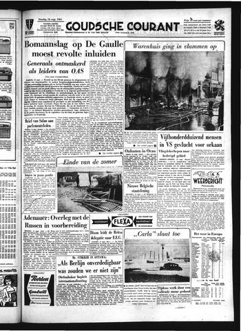 Goudsche Courant 1961-09-12