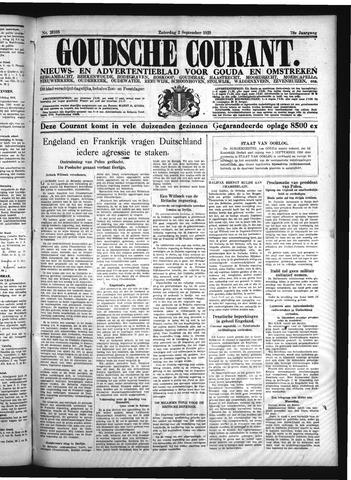 Goudsche Courant 1939-09-02