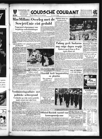 Goudsche Courant 1958-02-20