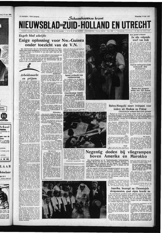 Schoonhovensche Courant 1961-07-12