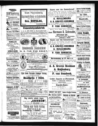 Schoonhovensche Courant 1903-07-27
