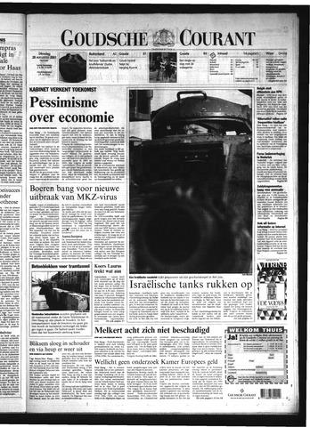 Goudsche Courant 2001-08-28