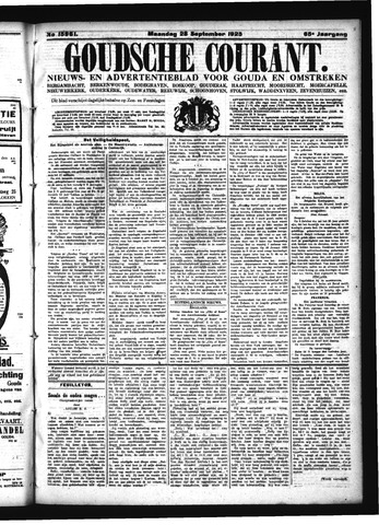 Goudsche Courant 1925-09-28