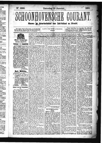 Schoonhovensche Courant 1900-01-13