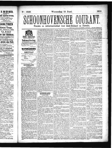 Schoonhovensche Courant 1912-06-12