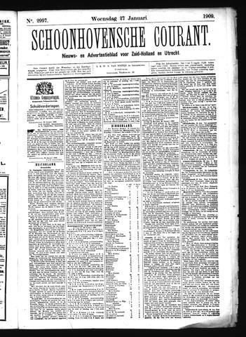 Schoonhovensche Courant 1909-01-27