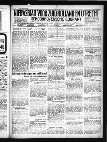 Schoonhovensche Courant 1940-05-27