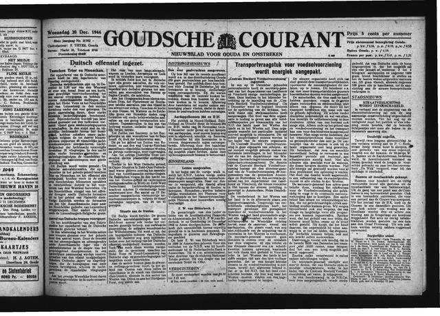 Goudsche Courant 1944-12-20