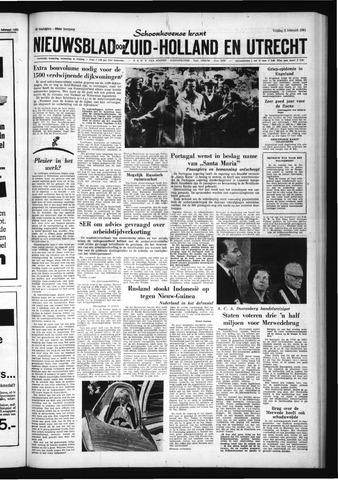 Schoonhovensche Courant 1961-02-03