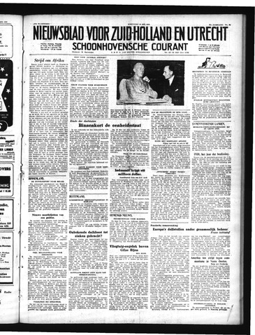 Schoonhovensche Courant 1950-05-10