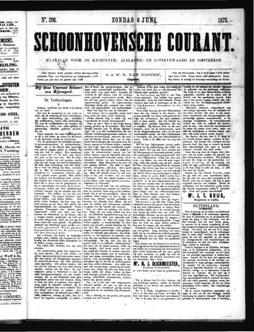 Schoonhovensche Courant 1873-06-08