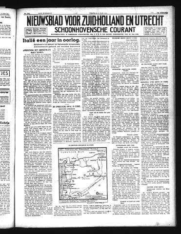 Schoonhovensche Courant 1941-06-11