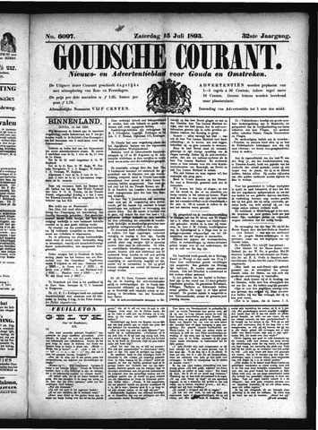 Goudsche Courant 1893-07-15