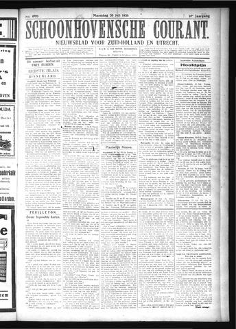 Schoonhovensche Courant 1925-07-20